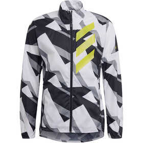 adidas TERREX Parley Agravic TR Windbreaker Herrer, grå/hvid